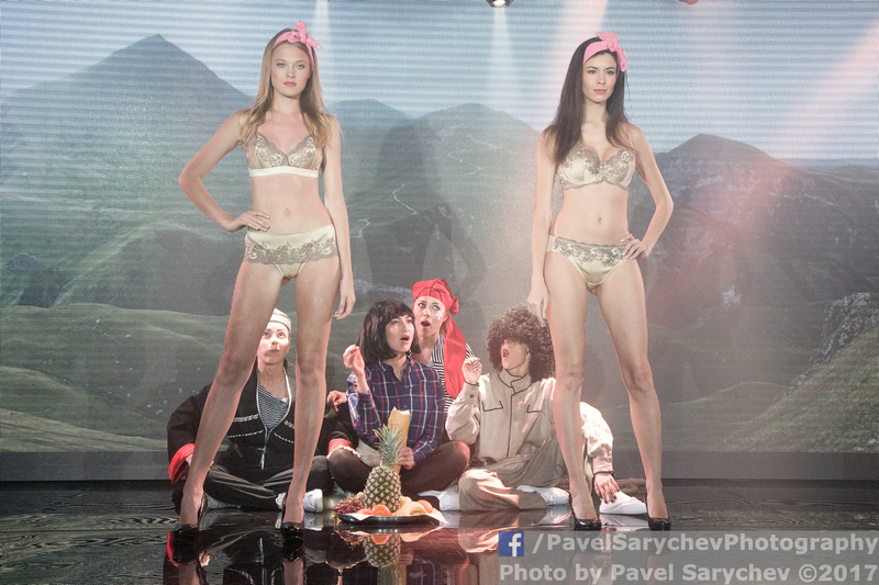 Lingerie Fashion Week: Кавказская пленница