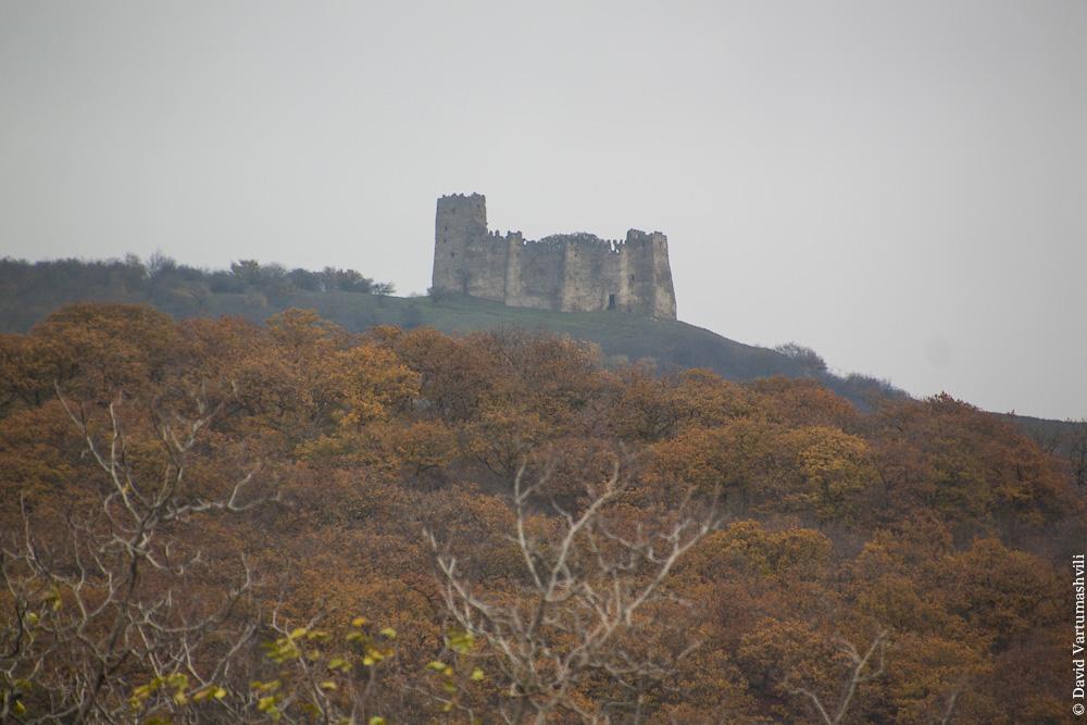Грузия, замок Амилахвари в Схвило