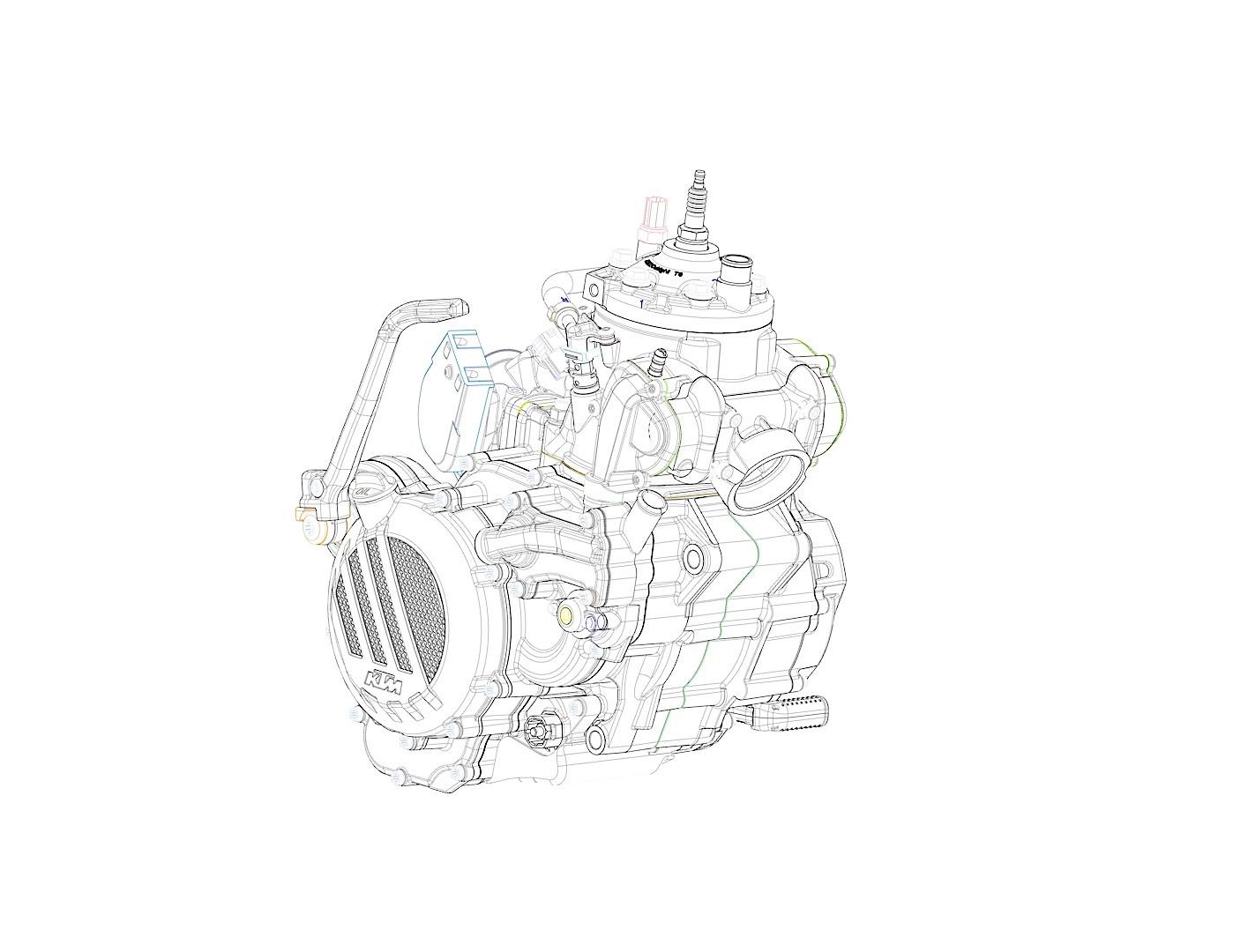 Компания KTM разработала инжектор для 2-тактных моторов