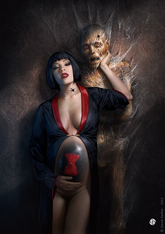 Hot Digital Portraits by David Gaillet