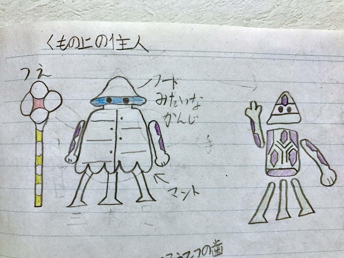 Il continue de transformer les dessins de son fils en personnages badass !