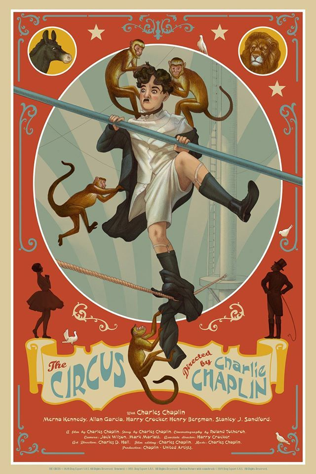 Charlie Chaplin Cult Movies Get Some Great Posters Thanks to Nautilus Art Print
