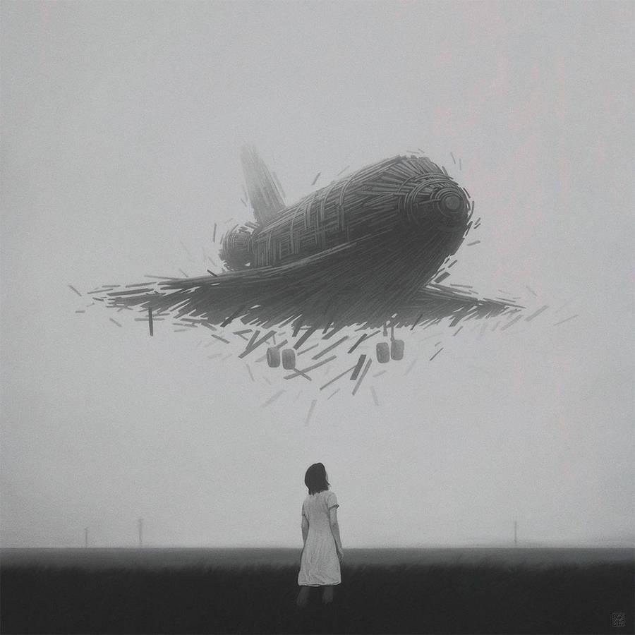 Apocalyptical Illustrations by Yuri Shwedoff