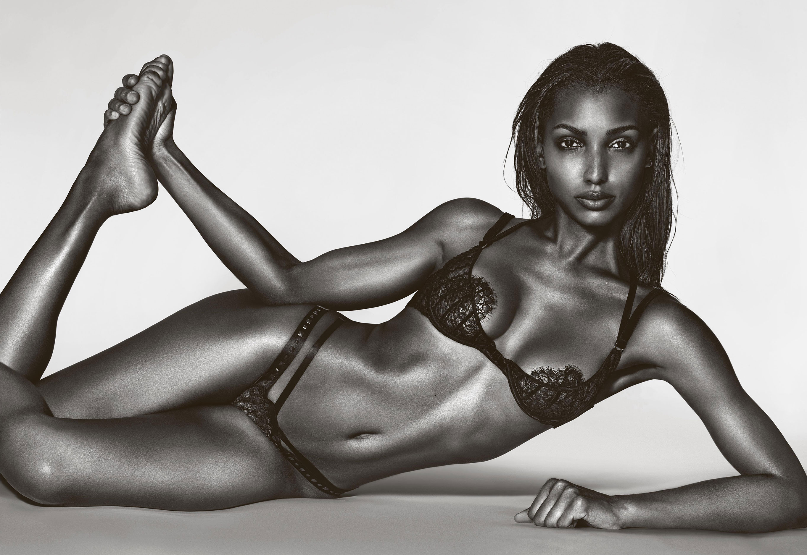 Victoria's Secret Angels - Jasmine Tookes by Richard Burbridge - 10 Magazine spring/summer 2017