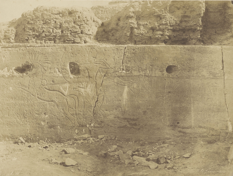 Бет-Куалли. Рельефы левой стены