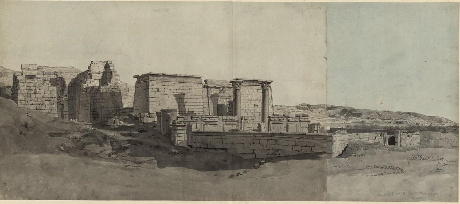 Мединет-Абу. Пропилеи и пилон храма