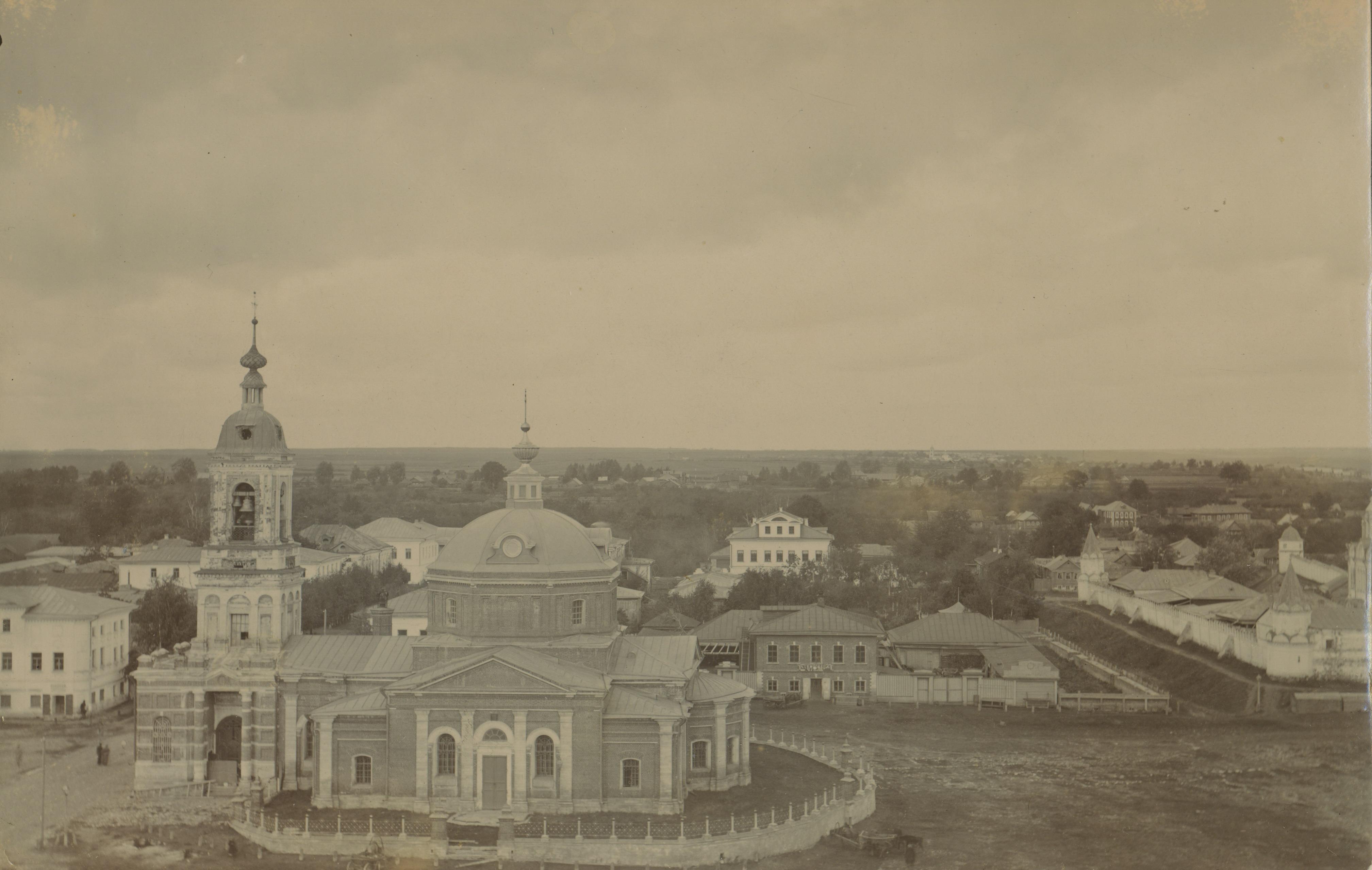 Церковь Иоанна Предтечи (XVII в.). Вид с юга. 1890-е