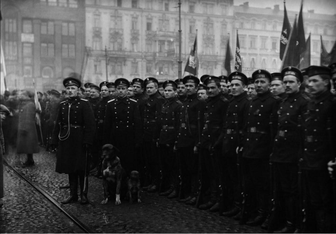 Во время Февральской революции в Гельсингфорсе