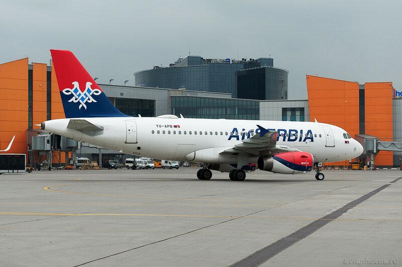 Airbus A319-132 (YU-APB) Air Serbia 011D702618