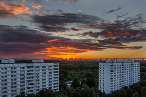 Закатный пейзаж