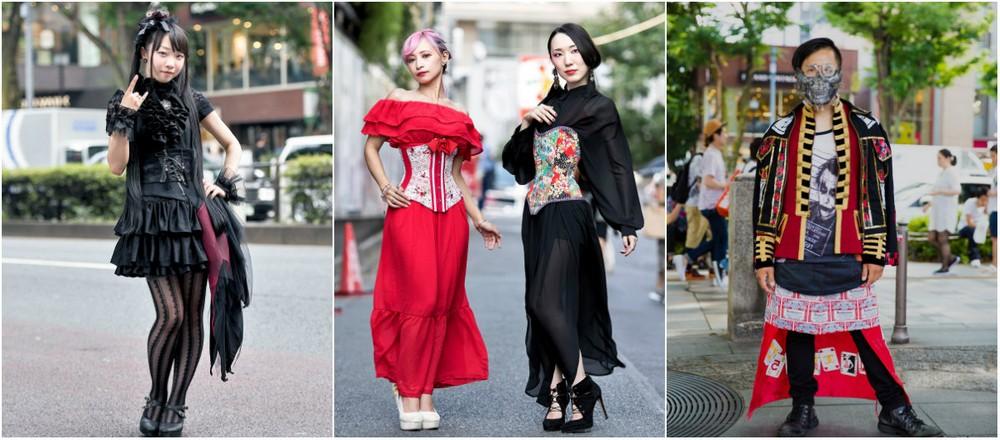 Модные персонажи на улицах Токио (16.08.17)