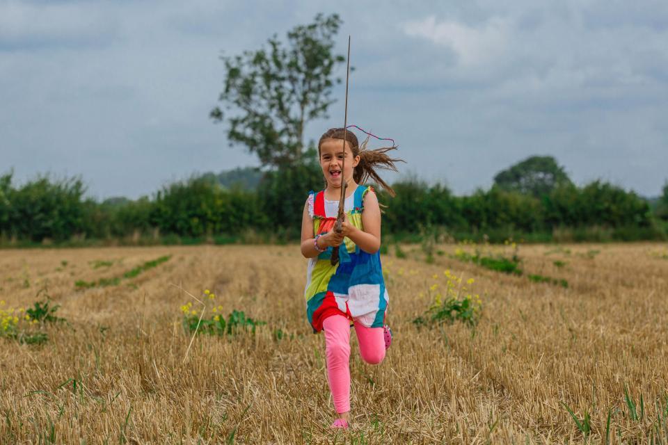 Девочка нашла меч в озере Корнуолла, где король Артур утопил Экскалибур