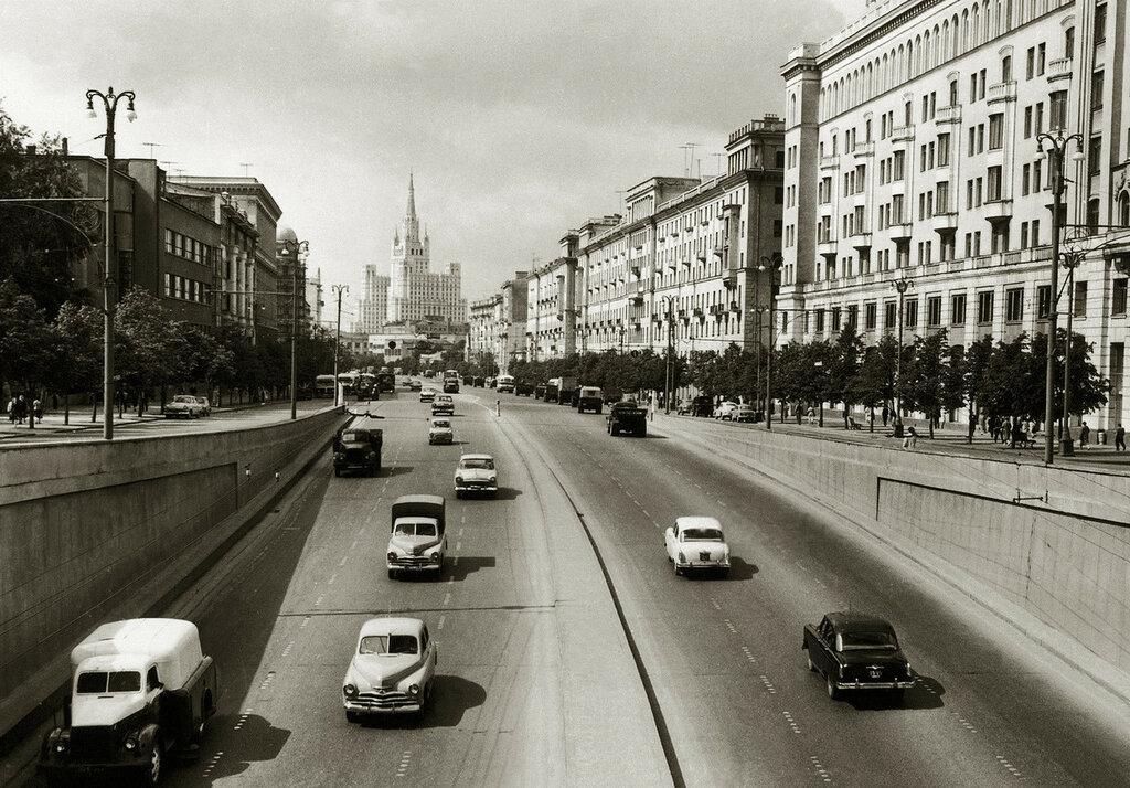 Большая Садовая улица 1962