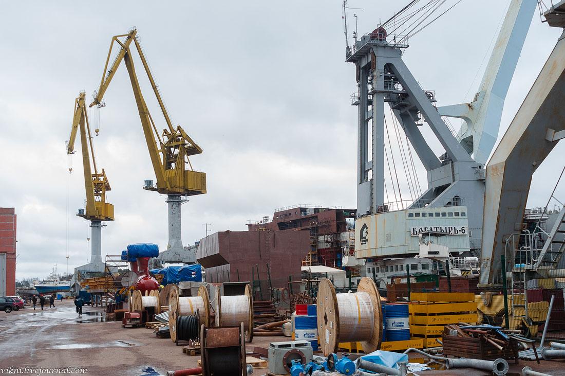 Экскурсия на Выборгский судостроительный завод