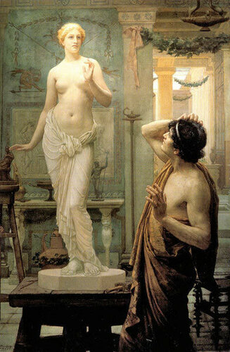 Ernest Normand (1859-1923, English) Pygmalion And Galatea Пигмалион И Галатея
