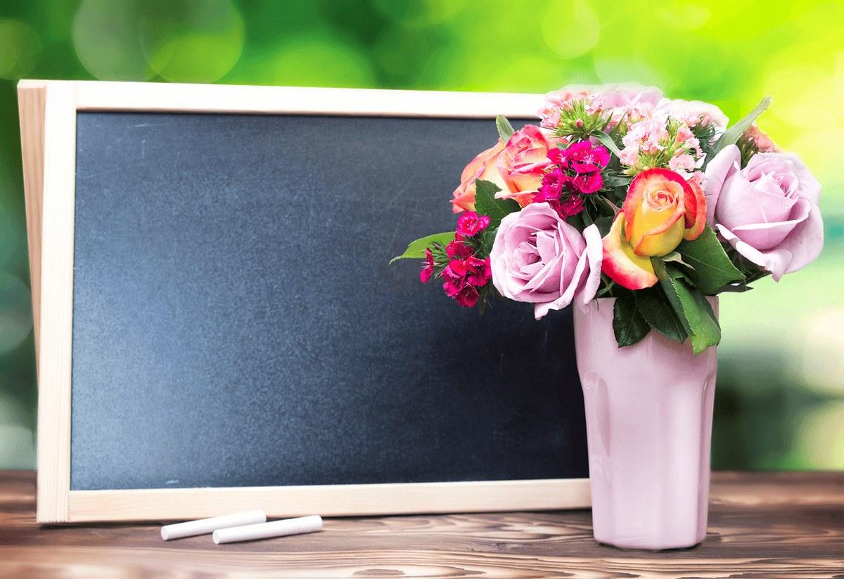 Картинки цветов на день учителя