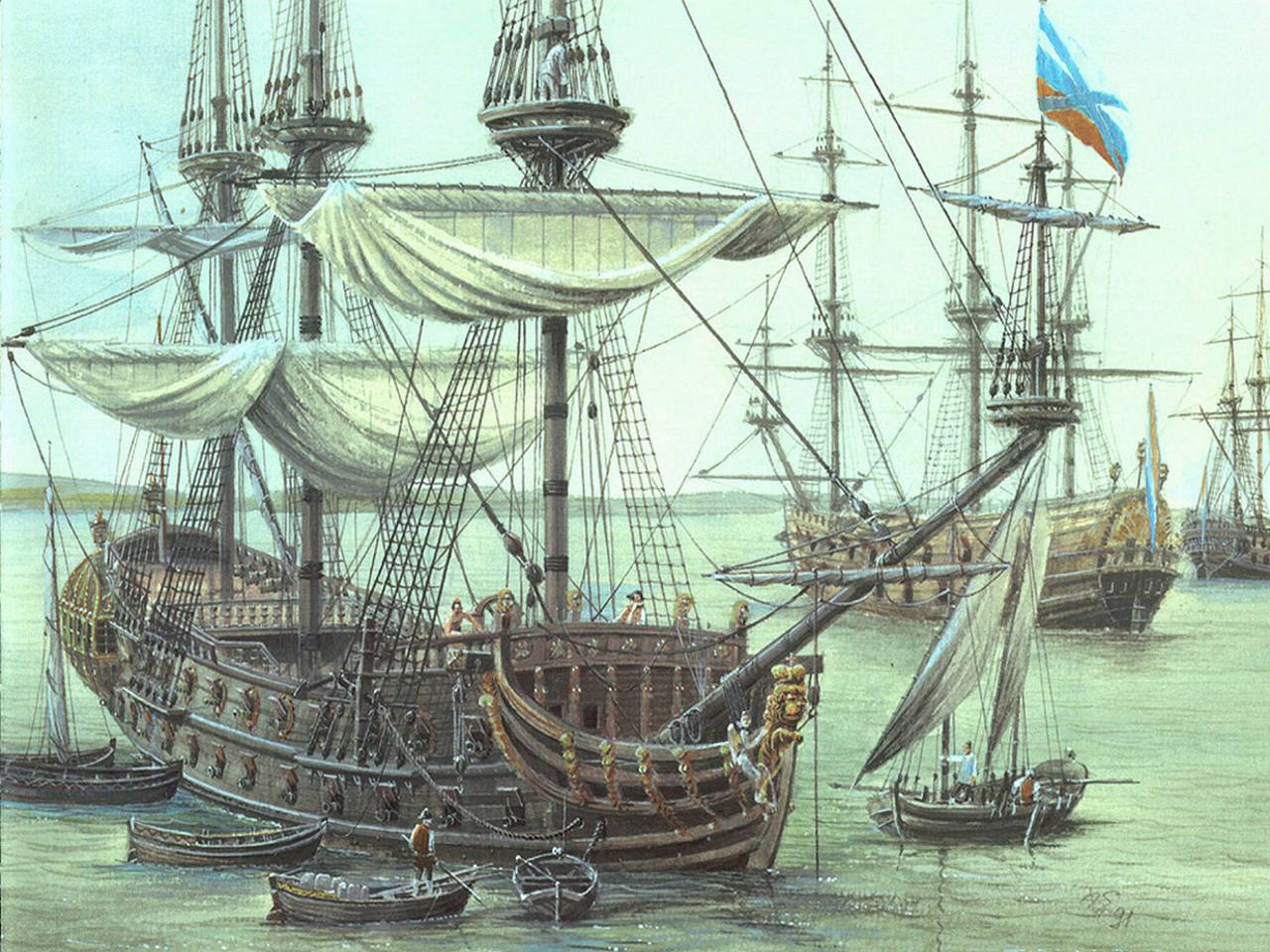 20 октября - День рождения российского военно-морского флота!