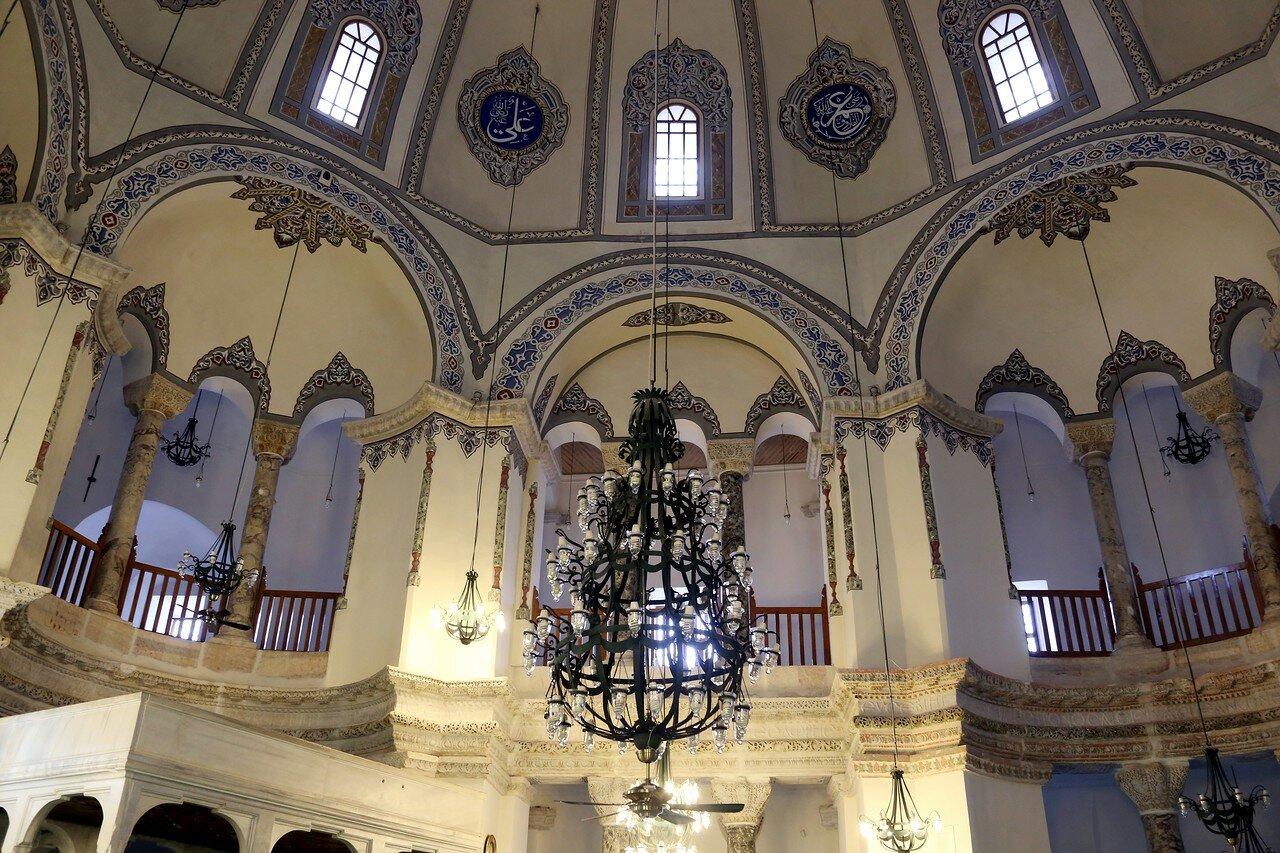 Istanbul.  Church of Saints Sergius and Bacchus, Little Sophia (Küçük Ayasofya camii).  Interiors