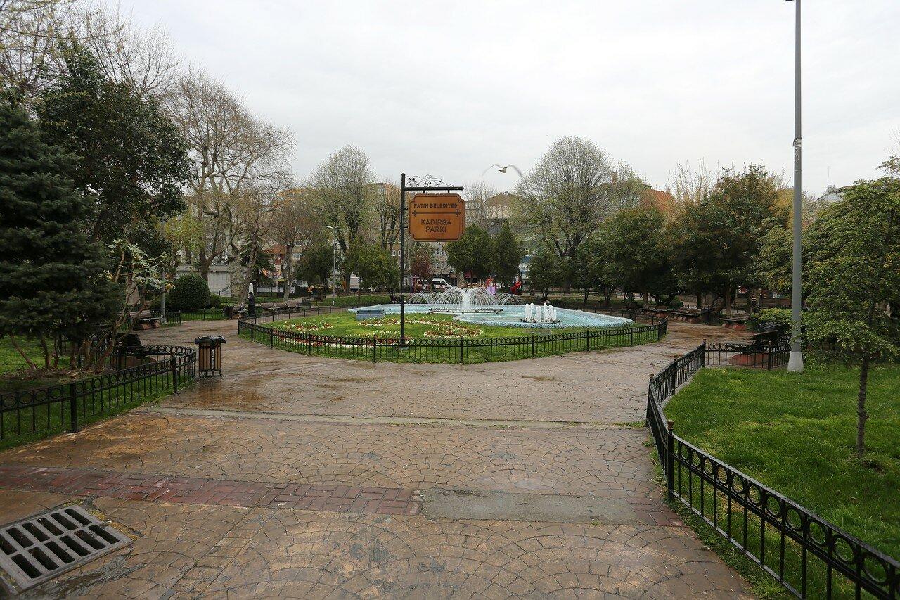 Стамбул. Парк Кадирга (Kadirga Park)