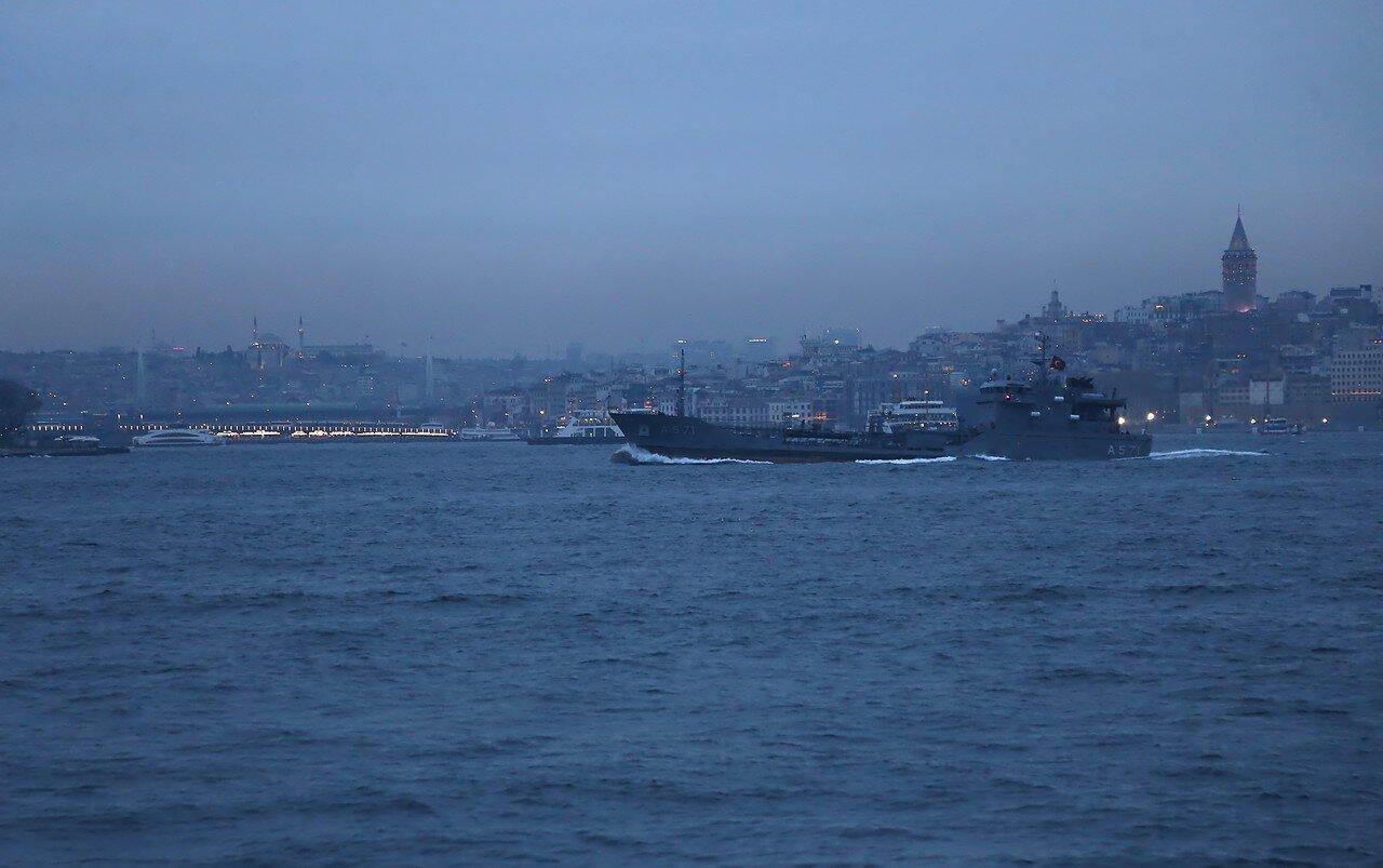 Evening Istanbul on Board the sea-Emanu