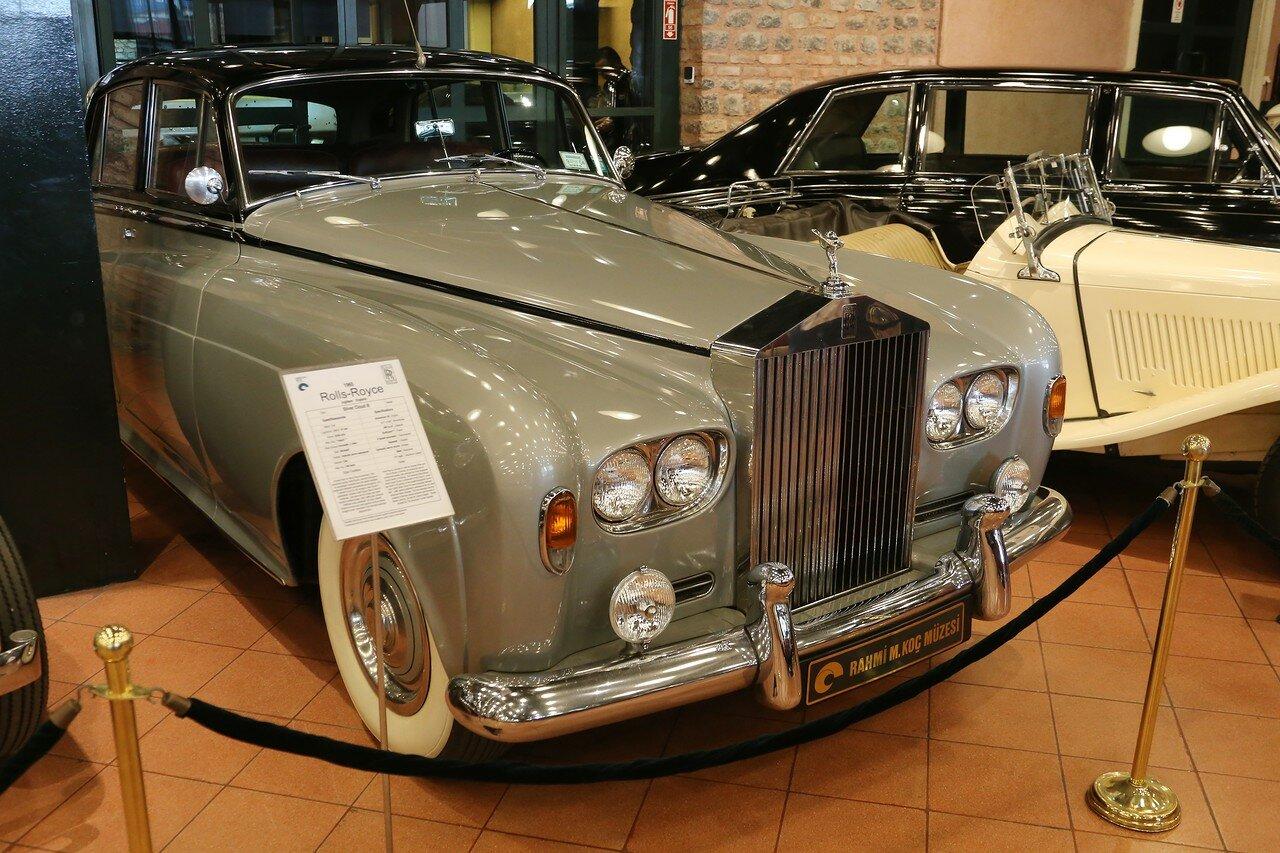 Стамбул. Музей Рахими Коча. Rolls-Royce Silver Cloud III
