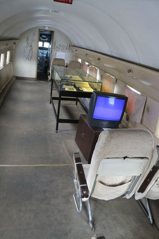 Стамбул. Музей Рахими Коча. Пассажирский самолет Douglas DC-3 'Dakota'