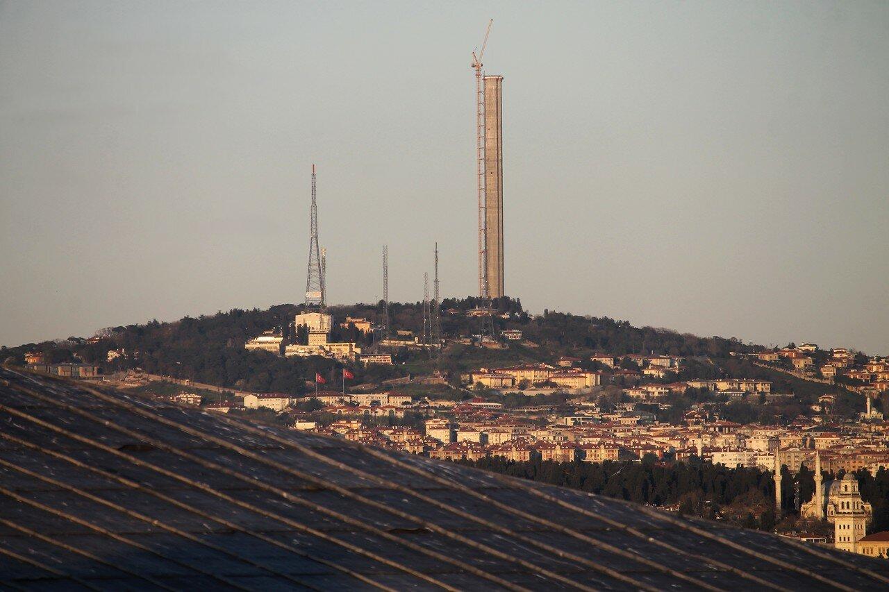 Стамбул. Закат над Босфором