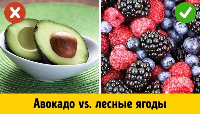 5самых опасных исамых полезных фруктов для тех, кто работает над фигурой (5 фото)