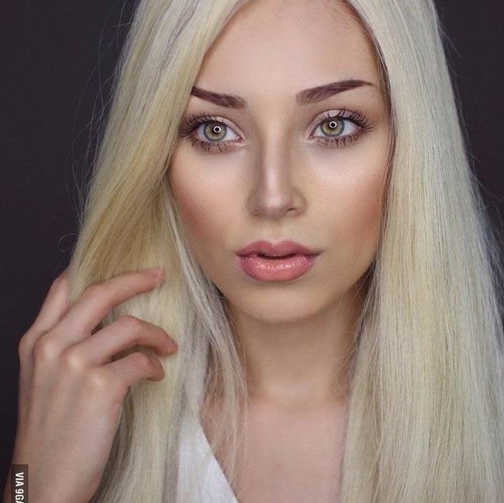 Магия макияжа. Семь разных образов в одной девушке