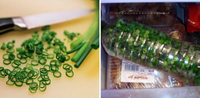 © stocksnap  Этот простой способ заморозки порадует всех. Летний зеленый лучок нарежьте изасы