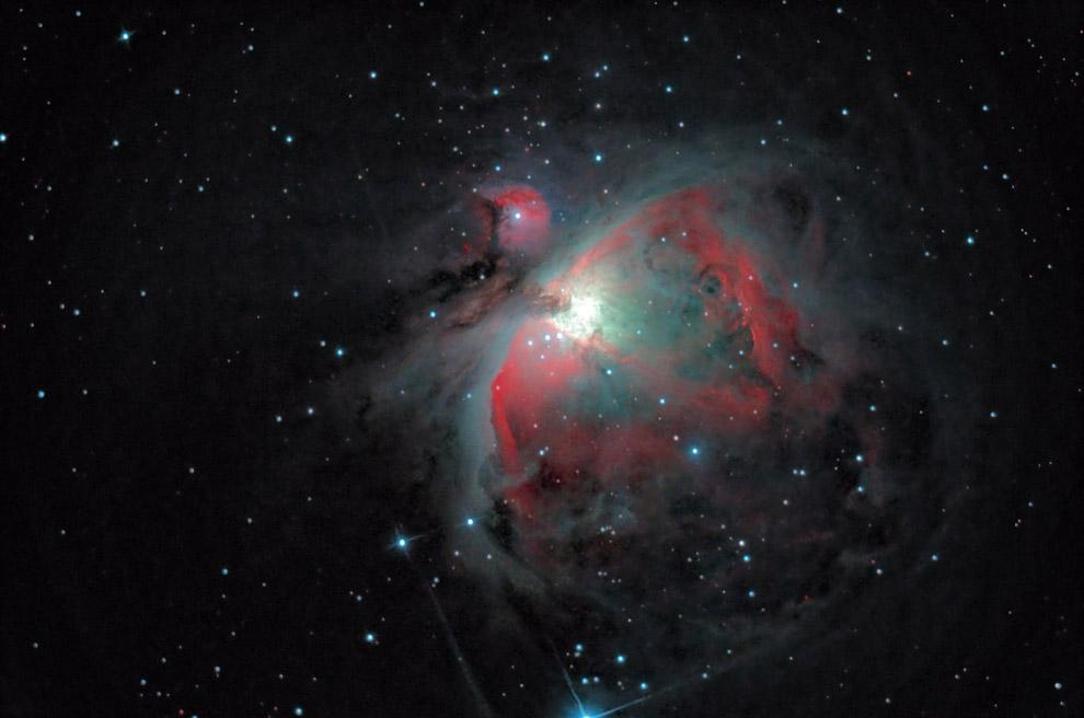 15. Национальная астрономическая обсерватория Китая в пригороде Пекина и звездное небо. (Фото H