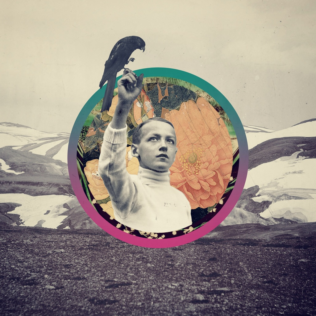 Психоделический арт-коллаж Дугласа Хэйла