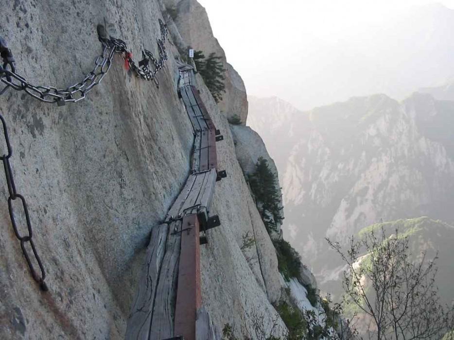 44. Небесная лестница в Китае