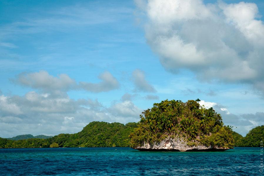 Все острова Палау возвышаются над поверхностью на высоту от 15 до 50 метров!