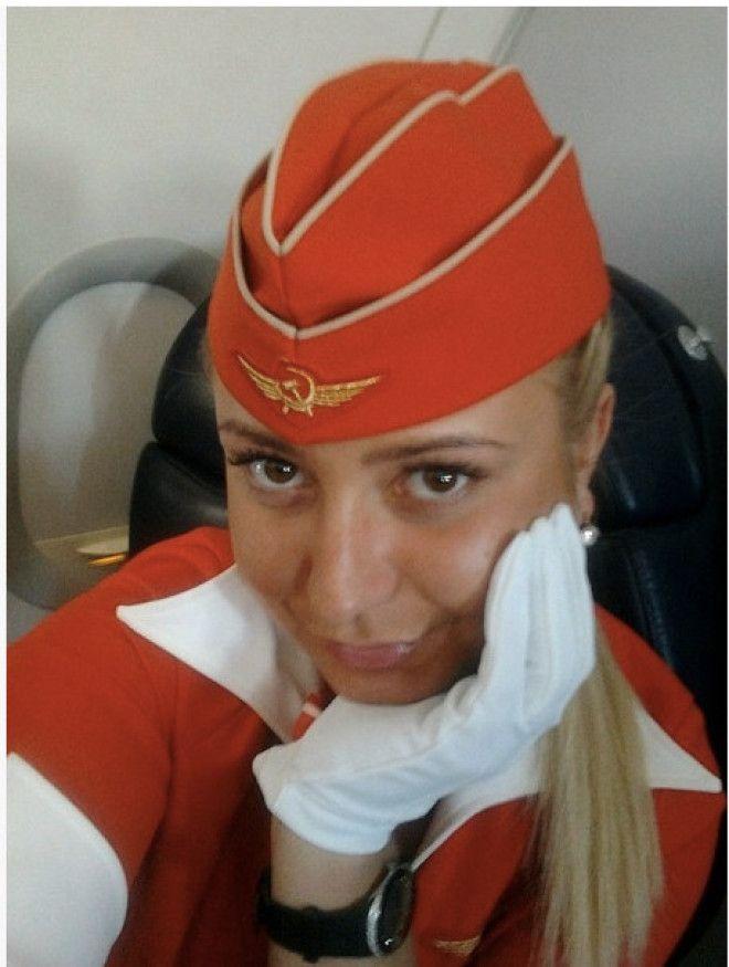 В 2011 году бортпроводница авиакомпании
