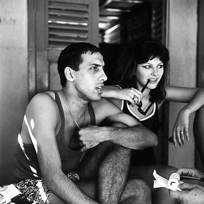 Знакомство Челентано и Мори произошло в 1963 году во время съемок фильма