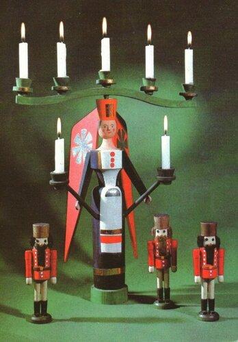 Счастливого Рождества и с Новым годом_немецкая открытка.