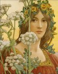 Elisabeth Sonrel (French, 1874 - 1953), Our Lady of the Cow Parsley.jpg