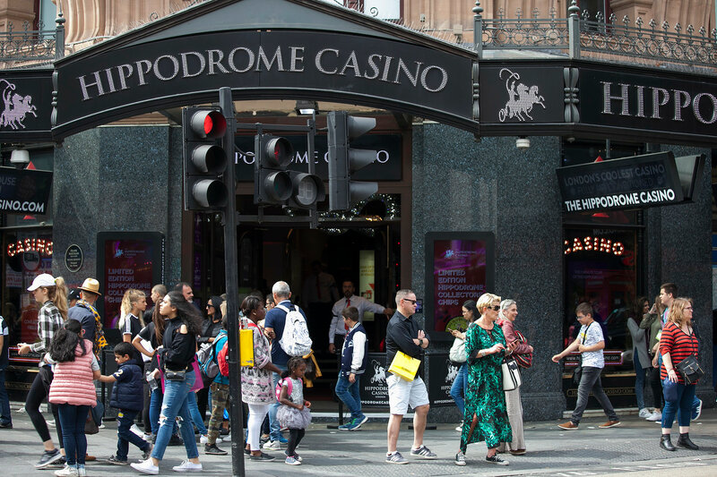 Famous Casino London Hippodrome. London Hippodrome was built in 1900 by Frank Matcham as a hippodrome for circus and variety performances.