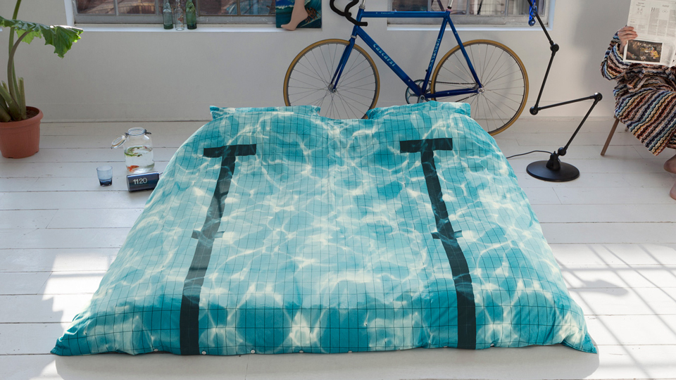 Turn Your Bed into a Swimming Pool
