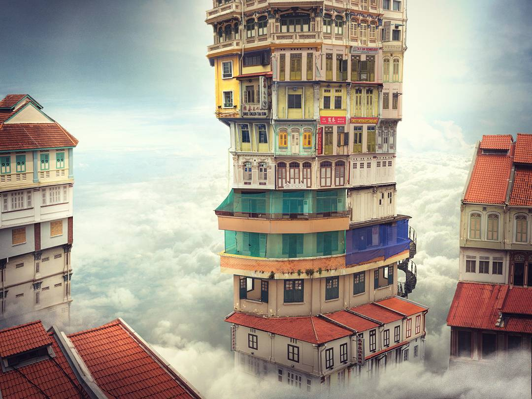 Charming Photo Manipulations by Andrew Kow