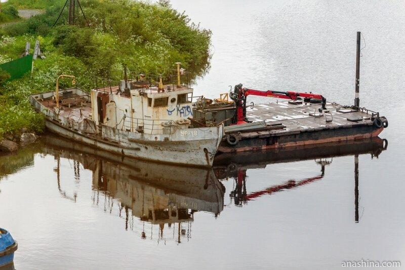 Старое судно, Вытегра
