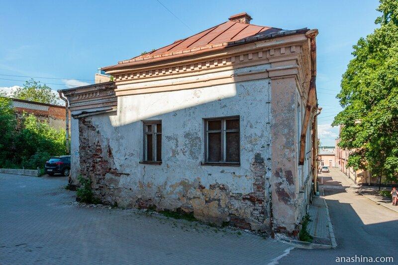 Дом по адресу Краснофлотская ул., 6, Выборг