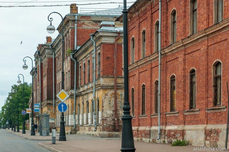 Комплекс зданий Машинной школы Балтийского флота, Кронштадт