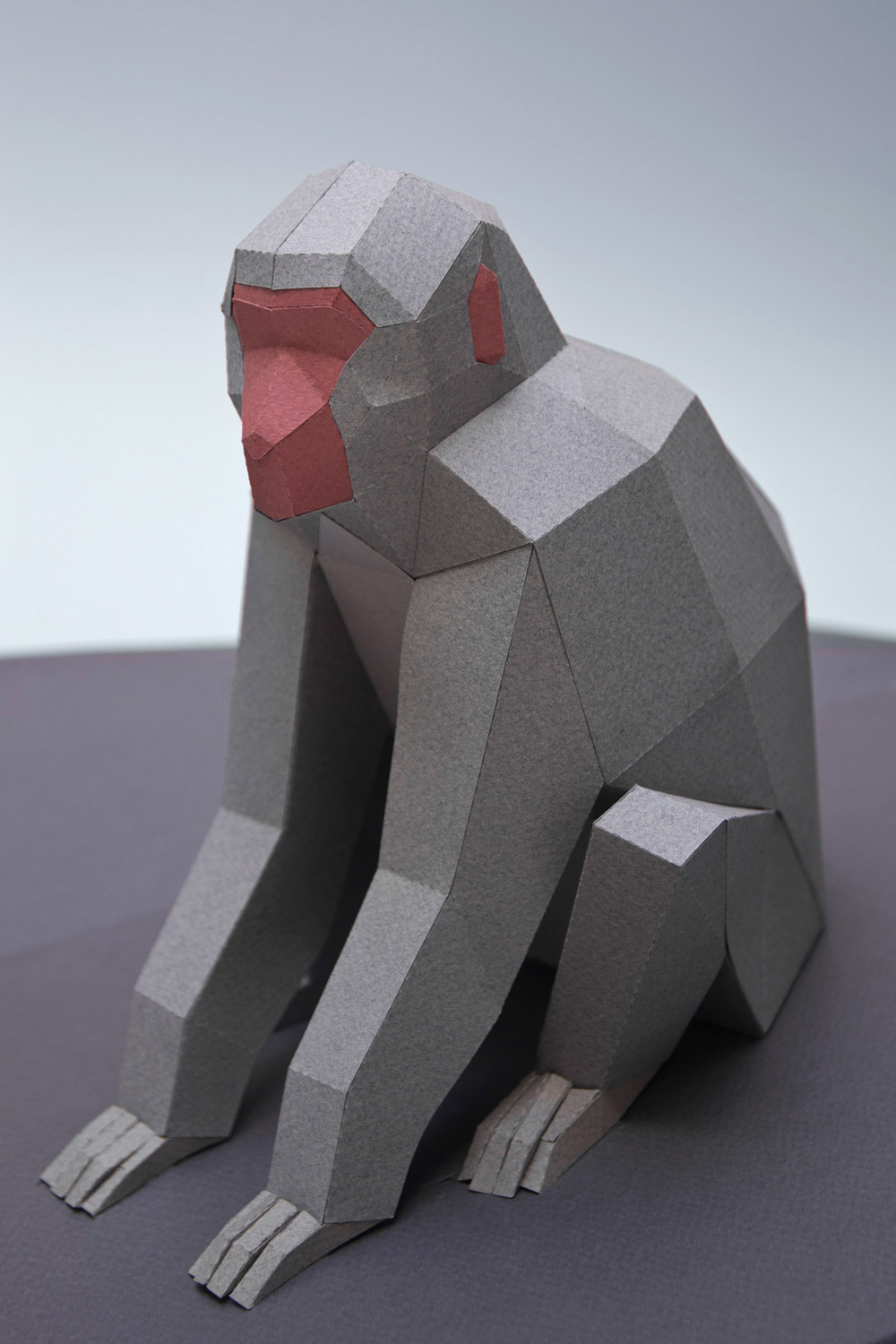 New geometric animals made out of paper by Guardabosques