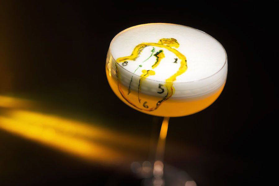 Impressive Cocktails Inspired by Dali, Mondrian & Van Gogh