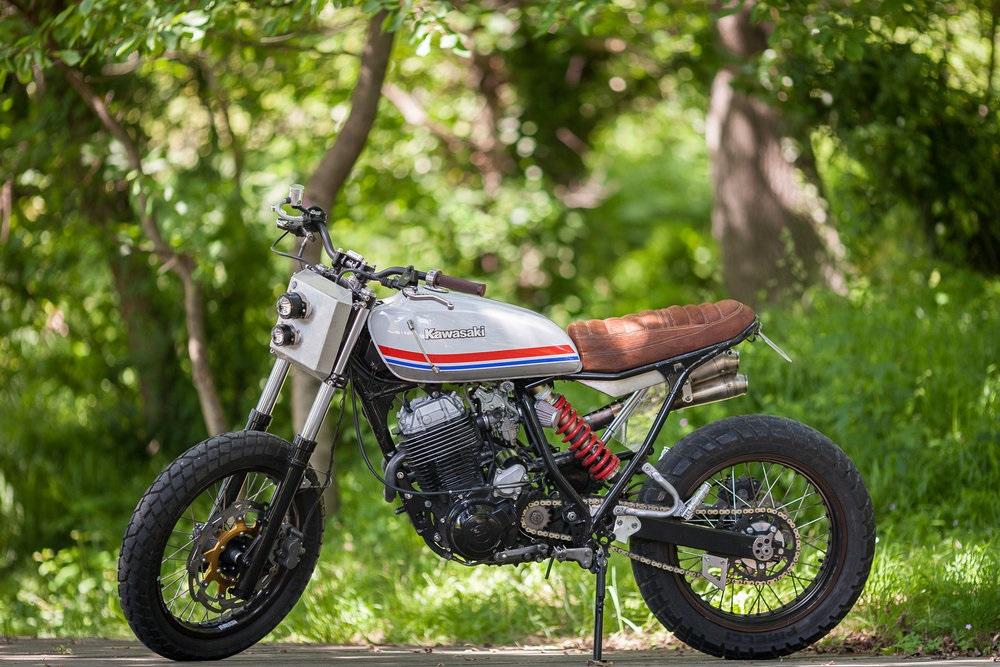 North Wheels: скрэмблер Yamaha XT600