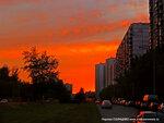 Закат на Авиаторов в Солнцево