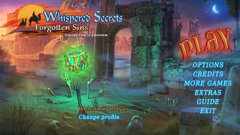 Whispered Secrets: Forgotten Sins CE