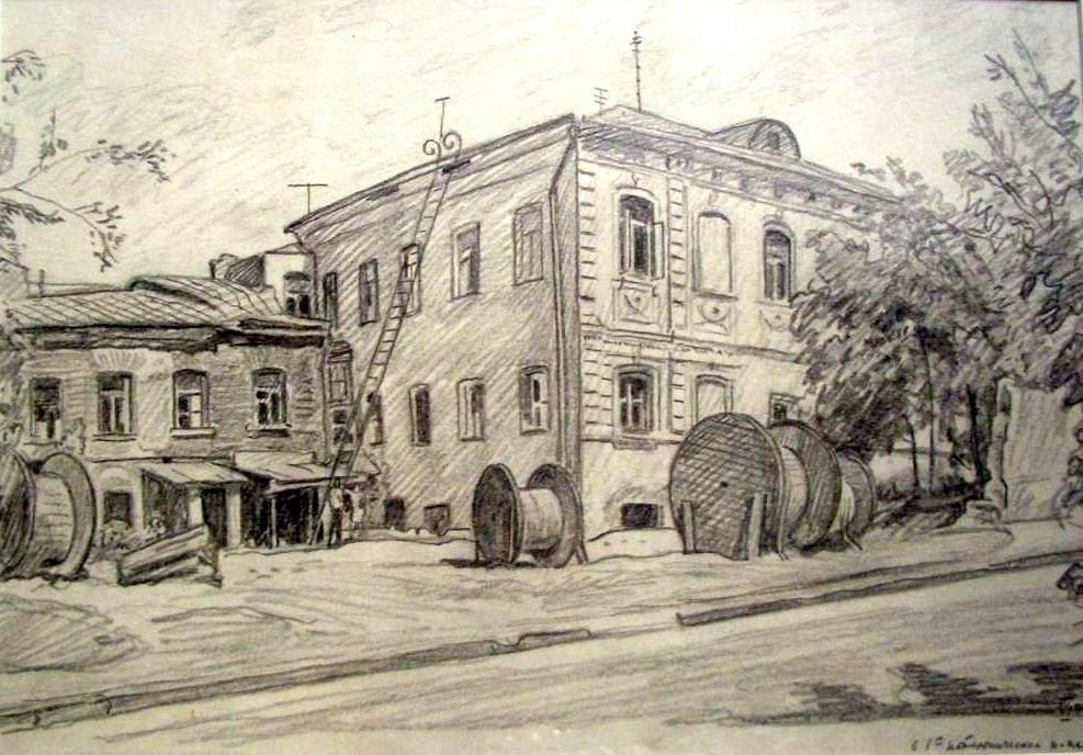ВАКИДИН В.Н. В 1-м Котельническом переулке.74.jpg